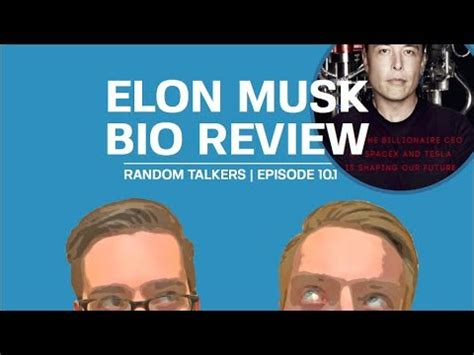 elon musk biography book review we review the elon musk biography youtube
