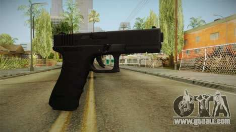glock 17 3 dot sight cyan for gta san andreas