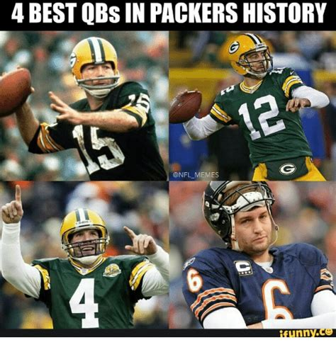 Best Nfl Memes - 4 best qbs in packers history memes funny daylight