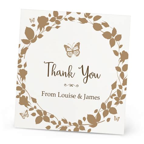 beautiful thank you cards vintage butterfly thank you card beautiful wishes