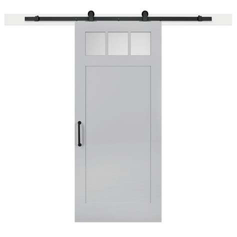 jeff lewis barn doors jeff lewis 36 in x 84 in gray geese craftsman privacy 3