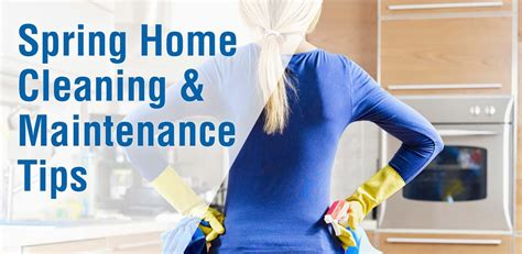 spring home tips spring home cleaning maintenance tips blog one insurance
