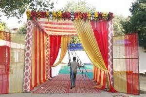 Draping Decorations Wedding Saajan Tent House In Ambedkar Nagar Delhi 110062