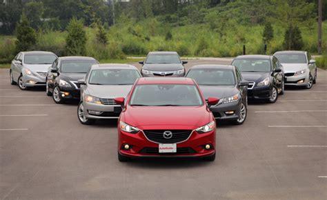 mid size 2013 2014 midsize sedan comparison 187 autoguide com news