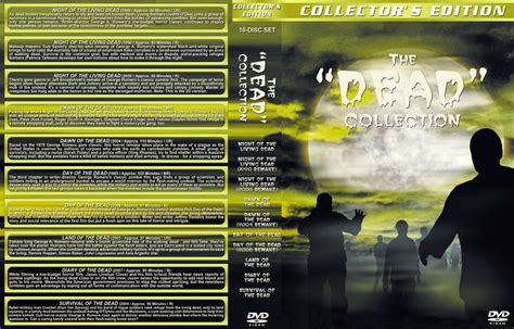 Of The Dead 2004 Dvd Collection Koleksi the quot dead quot collection dvd custom covers dead collection dvd covers