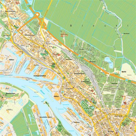 bremen city map map bremen bremen germany maps and directions at map