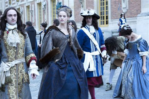 gorgeous period costumes  ovations versailles