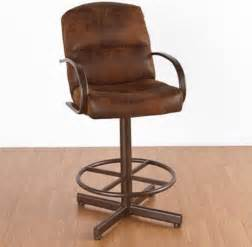 dallas 30 in bar stool with arms swivel modern