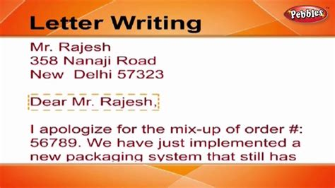 write  letter letter writing  english