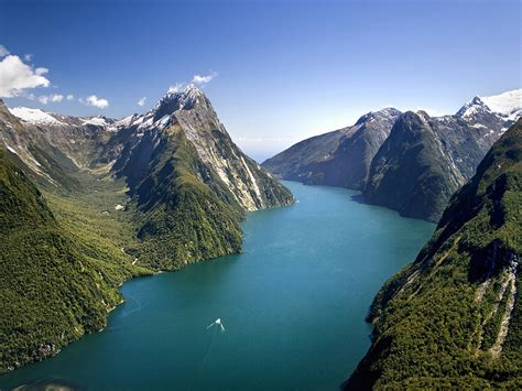 fjord in new zealand world heritage sites our list the heart thrills