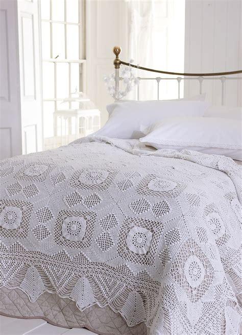 crochet bedspread crocheted bedspread sr linen