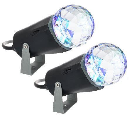 Qvc Outdoor Lighting Set Of 2 Indoor Outdoor Kaleidoscope Led Lightshow Projectors Qvc