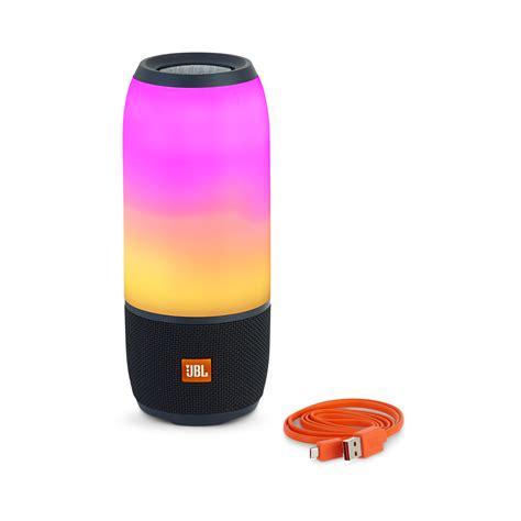 jbl color speaker jbl pulse 3 waterproof bluetooth speaker with 360 176 lightshow
