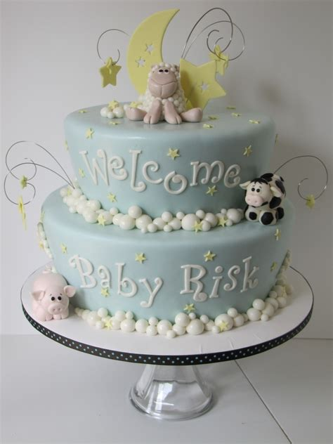 Animal Baby Shower Cakes by Farm Animal Baby Shower Cake Cakecentral