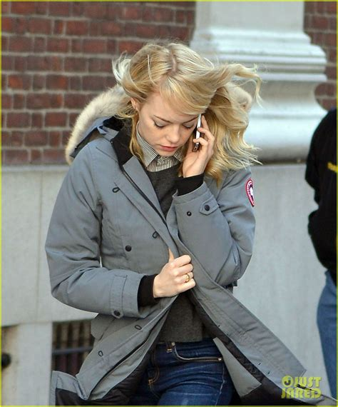 emma stone canada goose andrew garfield and emma stone reaction