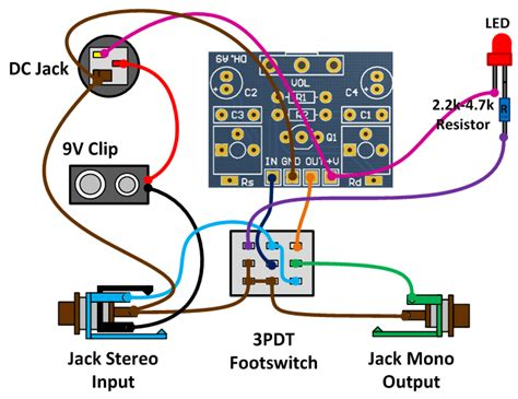 3pdt footswitch wiring 3pdt free engine image for user
