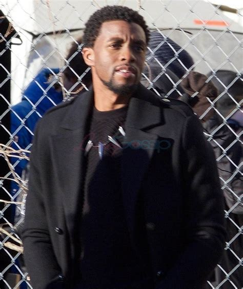 chadwick boseman chadwick boseman on the never ending avenger shoot