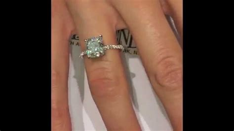 2.50 ct Cushion Diamond Engagement Ring   Our Famous RS 63