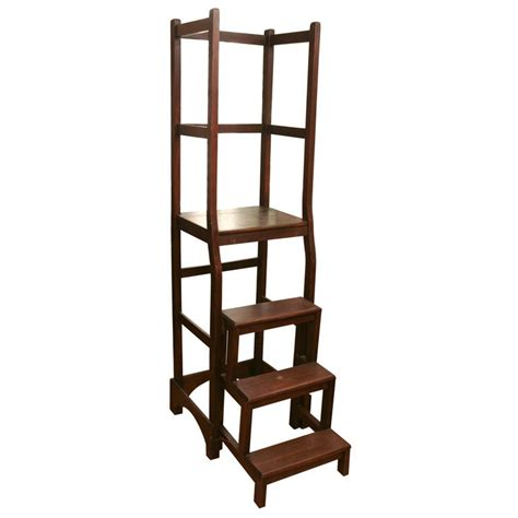 library ladders library ladder at 1stdibs