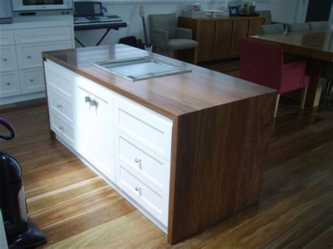 wooden kitchen bench tops solid timber kitchen bench tops home ideas pinterest