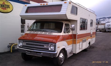 1977 dodge titan motorhome specifications