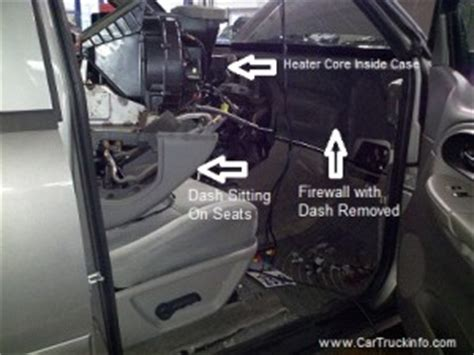 how to replace chevrolet trailblazer heater core