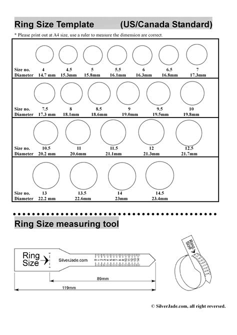 ring sizing template mens ring size the best wedding picture ideas 15 dec 17