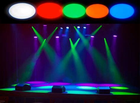 Kacamata Dj Glow Led Yellow Promo mini stage white green blue yellow color disco beam led pinspot light for dj