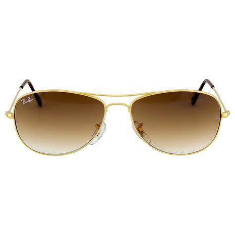 light brown aviator sunglasses ray ban cockpit rb3362 3362 001 www panaust com au
