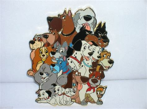 disney dogs 62 disney dogs grouped all together sold for us 583