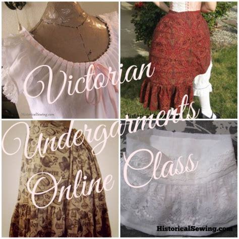 edwardian undergarments collection historical sewing victorian undergarments class