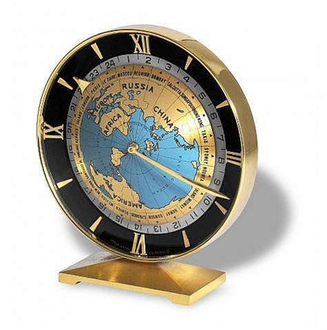 World Time Desk Clock by Imhof World Time Desk Clock Imhof Swiss No
