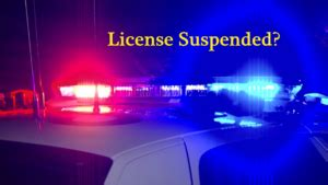 Is A License Suspension A Criminal Record License Suspensions Why You Should Not Quot Just Pay The Ticket Quot