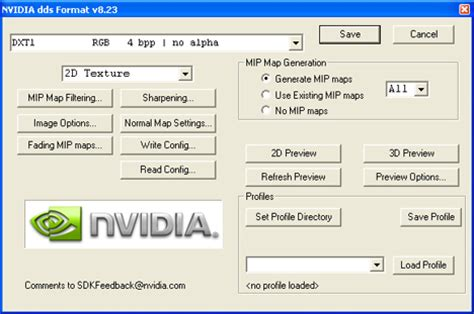 download nvidia texture tools for adobe photoshop 8.55