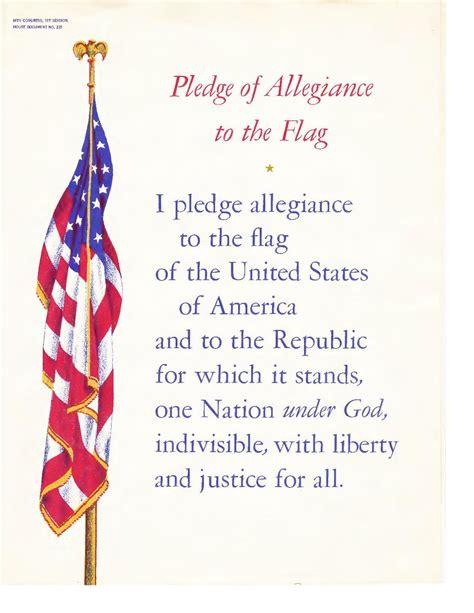 printable lyrics to the pledge of allegiance file pledge of allegiance to the flag by irving caesar pdf