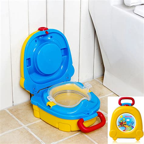 Toilet Darurat Mini Toilet Emergancy Traveling travel potty for kid emergency toilet for outdoor cing car travel in potties from