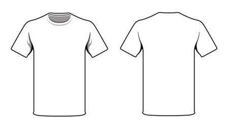 white tshirt template weekly freebies 20 free t shirt design templates design