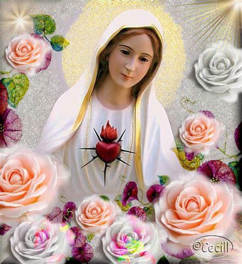 imagenes de la virgen maria con flores 18 im 225 genes de la virgen mar 237 a con rosas im 225 genes de la
