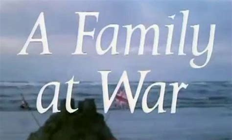 my family for the war series 1 a family at war what time is it on tv episode 1 series