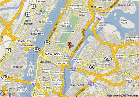map of affinia gardens new york