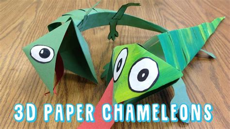 how to make a lizard out of how to make a 3d chameleon sculpture