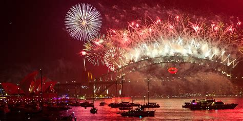 new year in harbour new years fireworks 2017 countdown bye