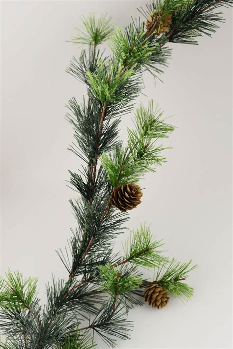 pine garland 9 ft mt ming pine garland