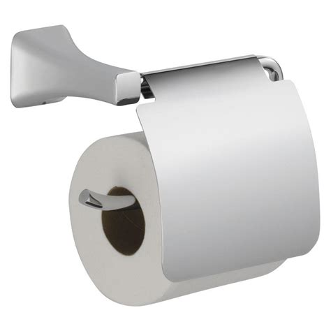 decorative single toilet paper cover tesla single post toilet paper holder with removable cover