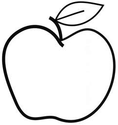 apple fruit drawing fruit coloring pages apple printables free drawing sketch coloring drawing