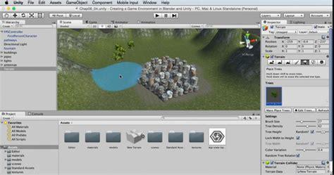 membuat game fps dengan unity kursus unity 3d membuat game environment di blender dan