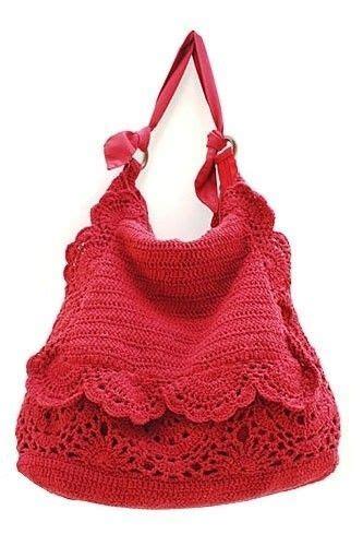 Tas Wanita Handmade Bags Delice Half borsa tricot rosa sas tas bags patterns and inspiration
