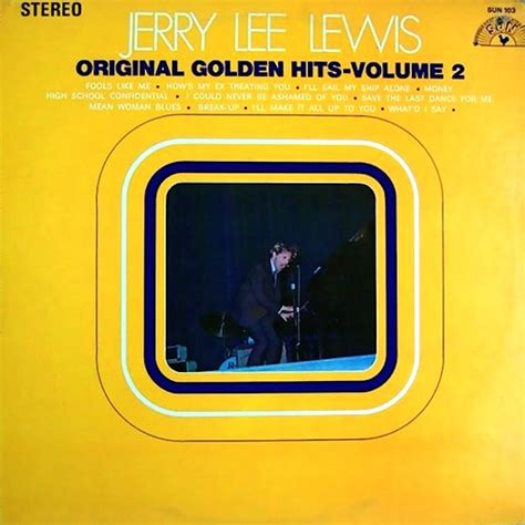 Cd 21 Golden Songs Vol1 jerry lewis original golden hits volume 1 sun still sealed records lps vinyl and cds