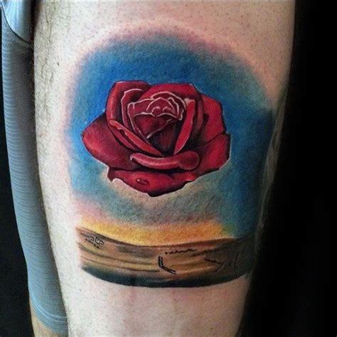 salvador dali rose tattoo 50 salvador dali designs for artistic ink ideas