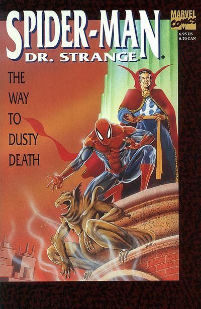 spider man dr strange    dusty death vol